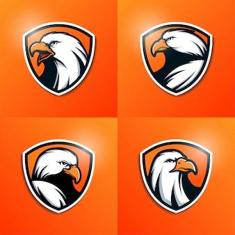 Коллекция логотипа орла