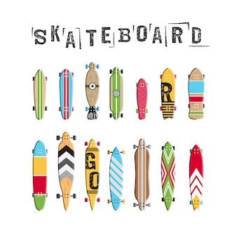 スケートボードコレクションを設定する