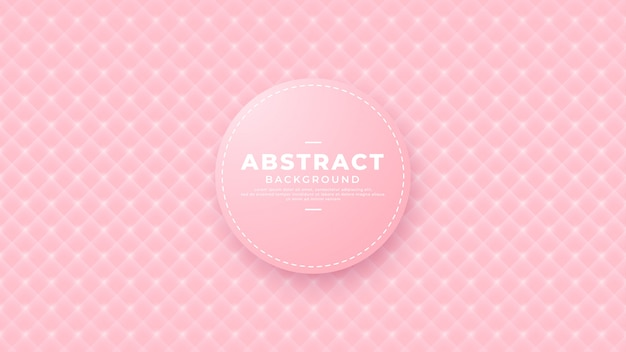 Геометрическая розовая текстура векторный фон.