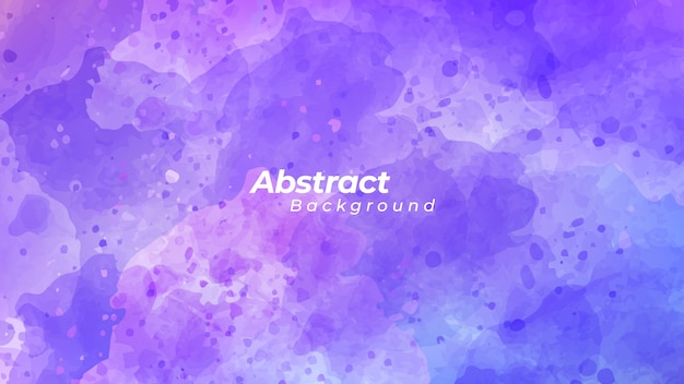 Модный синий и фиолетовый акварельный фон.