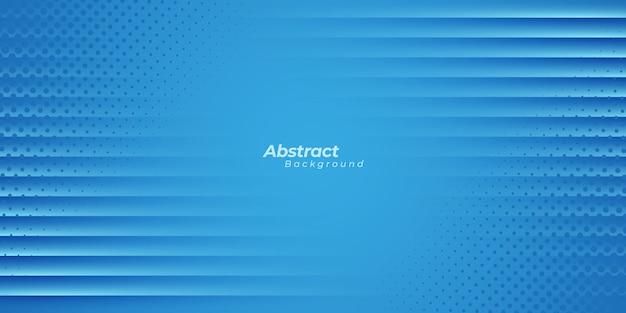 Синий полосатый и полутоновых точек фон.