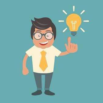 Предприниматель с идеей