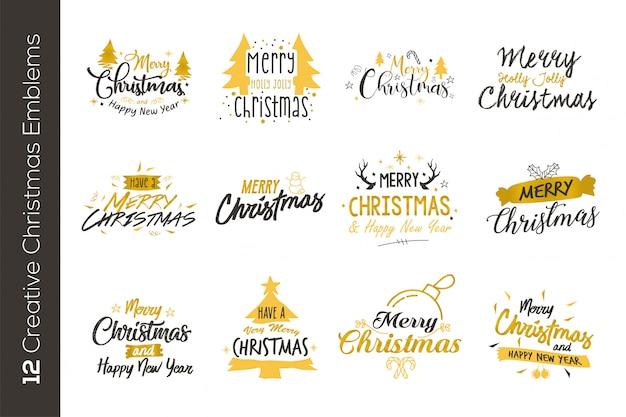 クリスマスゴールドエンブレム