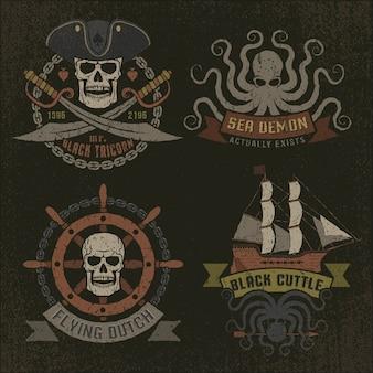 海賊のロゴ