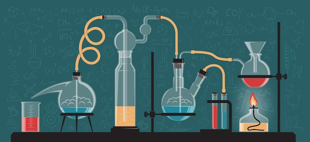 複雑な化学反応