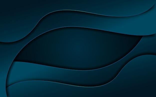 現代のダイナミックな液体海軍の背景