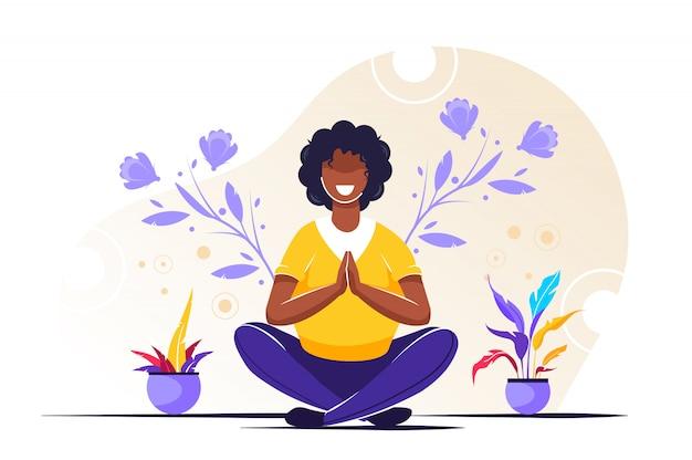 体、心、感情のヨガの健康上の利点
