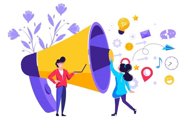 Связи с общественностью и делами, общение