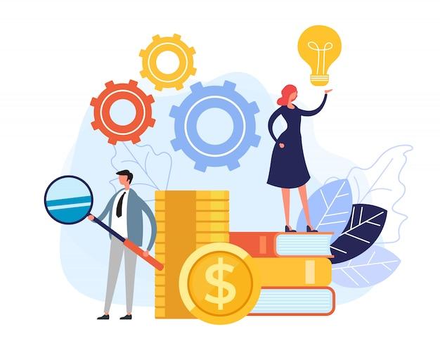 成功するビジネスチームワークの概念