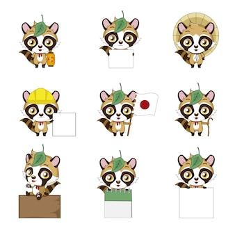 日本の猫のコレクション