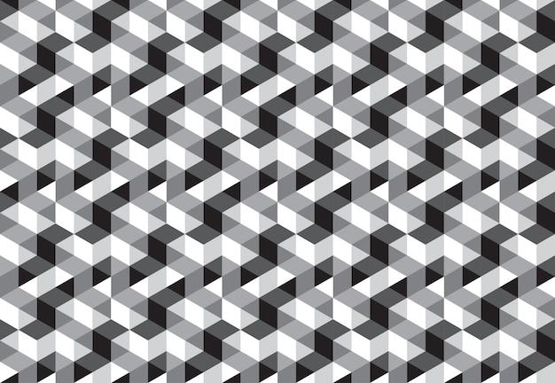 キューブブロックシームレスパターン