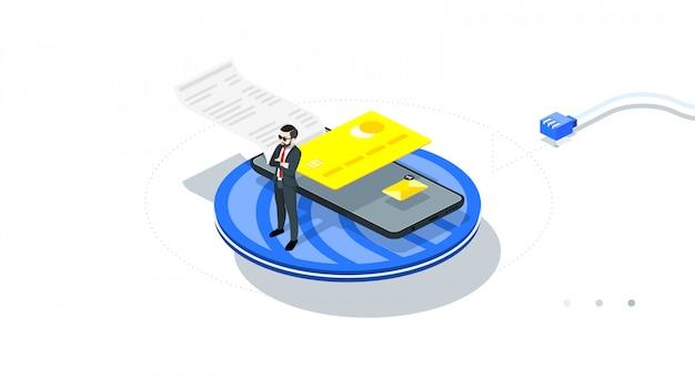 オンラインで安全かつ保護されたモバイル決済。