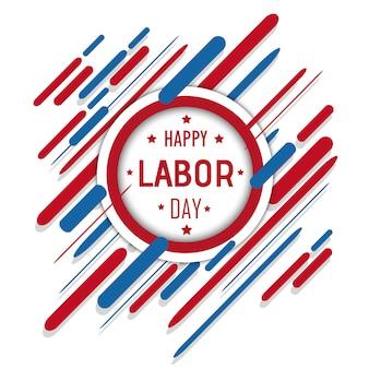 ベクトルアメリカの労働者の日の背景