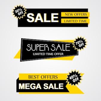 Коллекция значков современной продажи