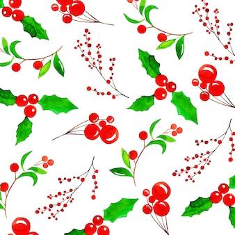 Акварель красочный фон рождества шаблон