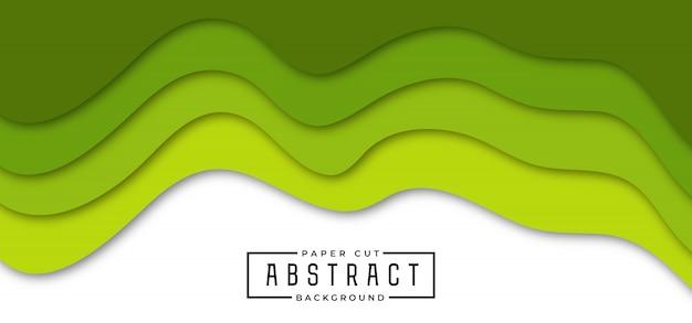Абстрактный стильный фон бумаги вырезать