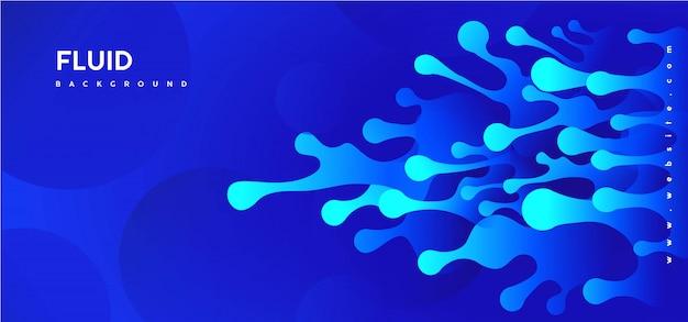 抽象的なブルーの背景