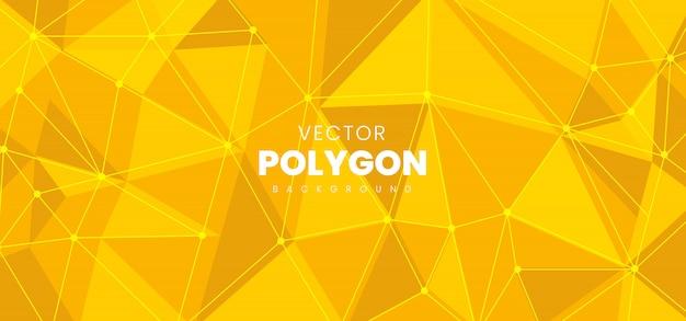 ポリゴンの抽象的な背景