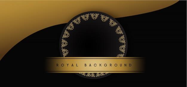 Королевский золотой фон
