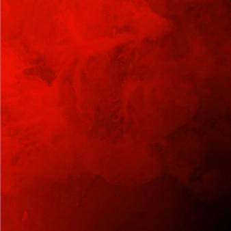 ロイヤル水彩バレンタイン赤い背景
