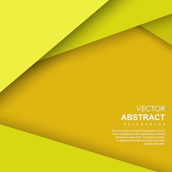 黄色のベクトルの抽象的な背景