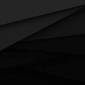 黒いベクトルの抽象的な背景
