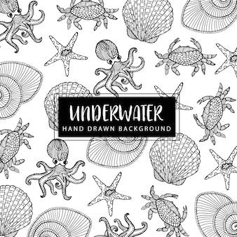 Рисованные подводные элементы