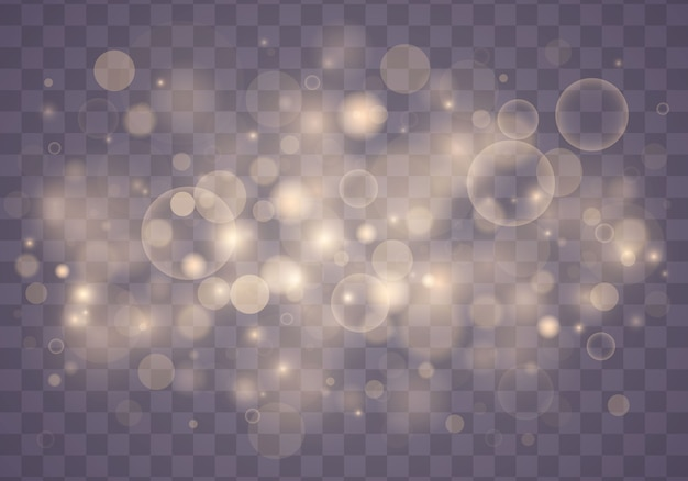 光の抽象的な光るボケ味が点灯します。クリスマスのコンセプト。
