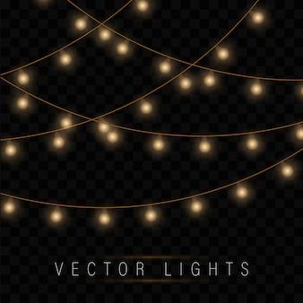 Рождественские светящиеся гирлянды