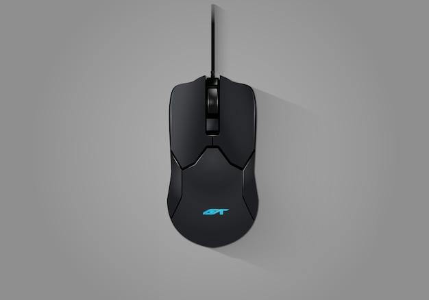 Реалистичная игровая мышь