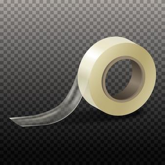 透明のイラストスコッチテープ