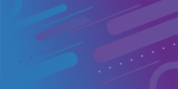 Абстрактный градиент фона с элементом мемфис