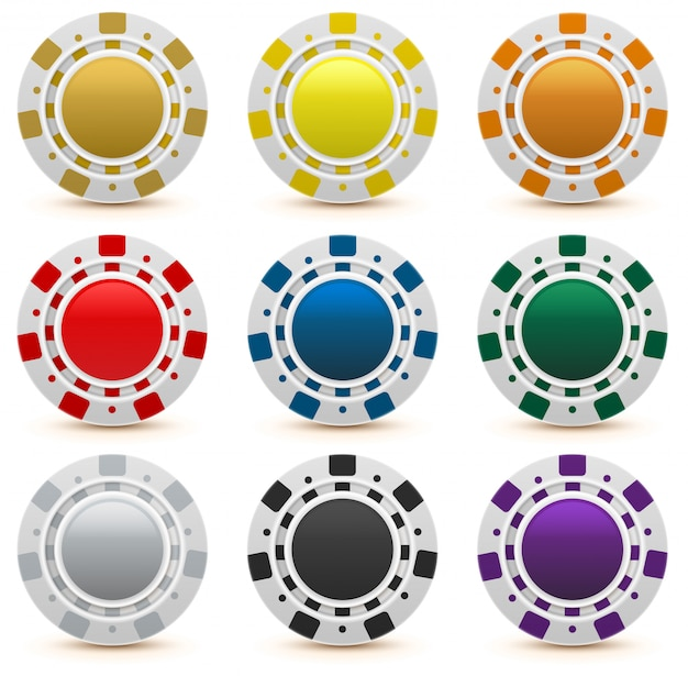 Установить игровые фишки казино