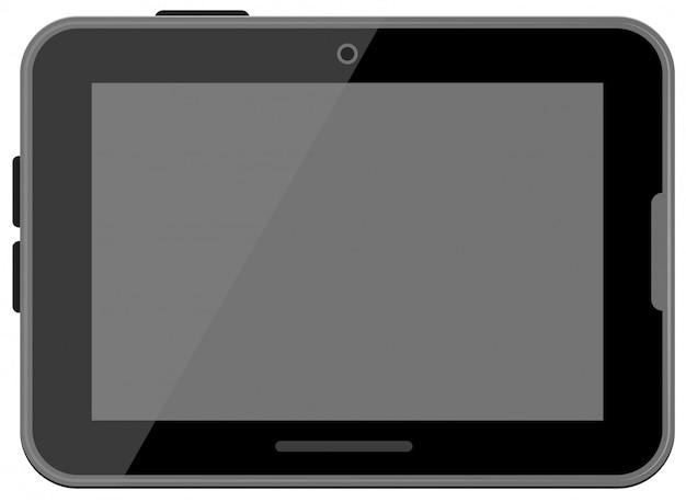 Черный цифровой планшет