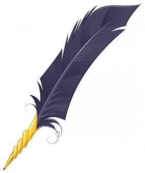 黄金の羽根ペン