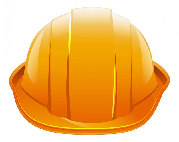 Защитный шлем. оранжевый строительный шлем