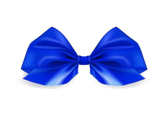 現実的な青い弓