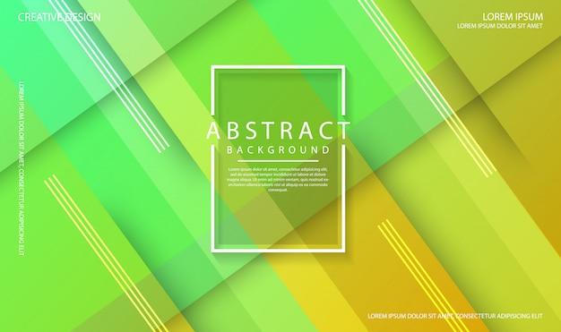 動的テクスチャ図形と幾何学的な緑の抽象的な背景