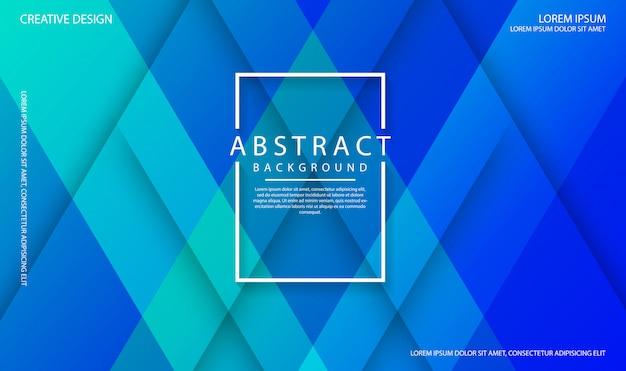 動的テクスチャ図形と幾何学的な青の抽象的な背景