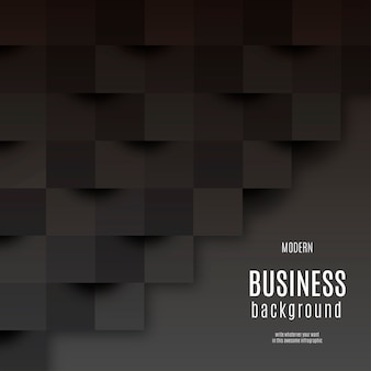 黒のモダンなビジネスの背景