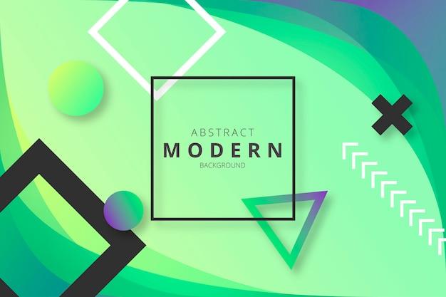 抽象的な現代的な背景