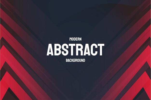 Современный абстрактный фон с красными линиями