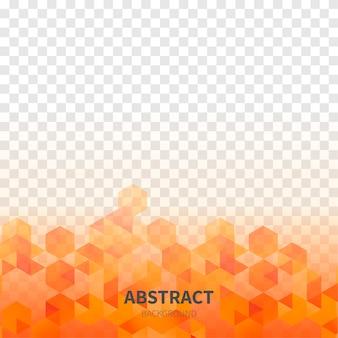 透明な背景を持つ抽象図形