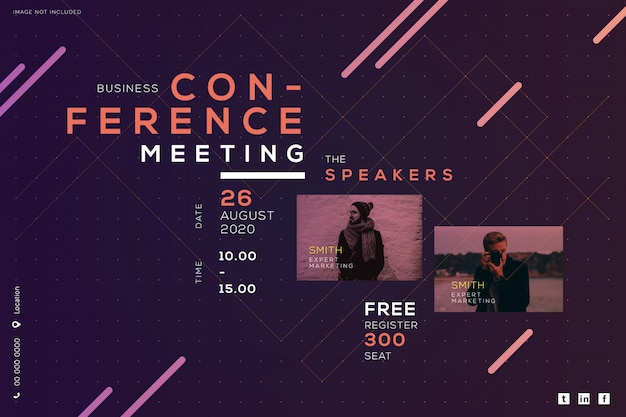 ビジネス会議ミーティングコーポレート、クリエイティブデザイン