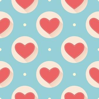 バレンタインデーのパターン