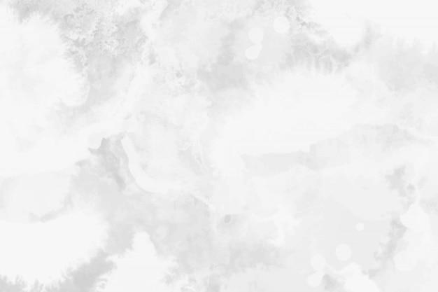 Акварель белая и светло-серая текстура, фон