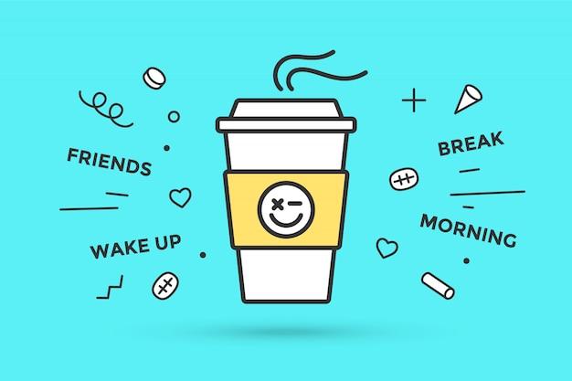 Иконка кофейная чашка