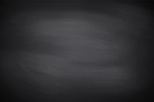 黒板、テクスチャ。黒い空の黒板背景、表面