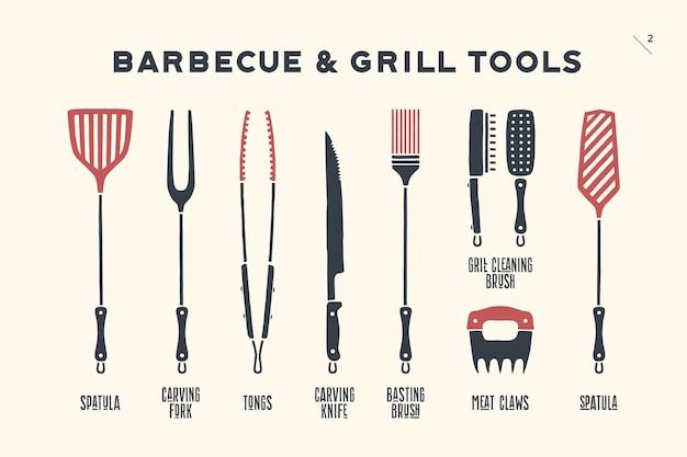 Инструменты для барбекю и гриля