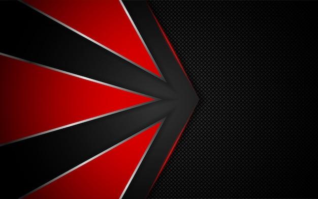 Абстрактный красный свет на темном фоне
